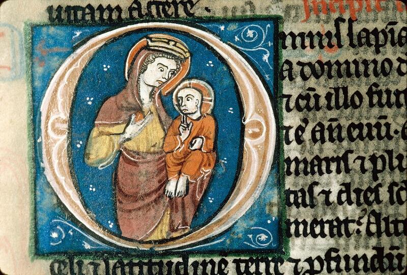 Alençon, Bibl. mun., ms. 0054, f. 207 - vue 2