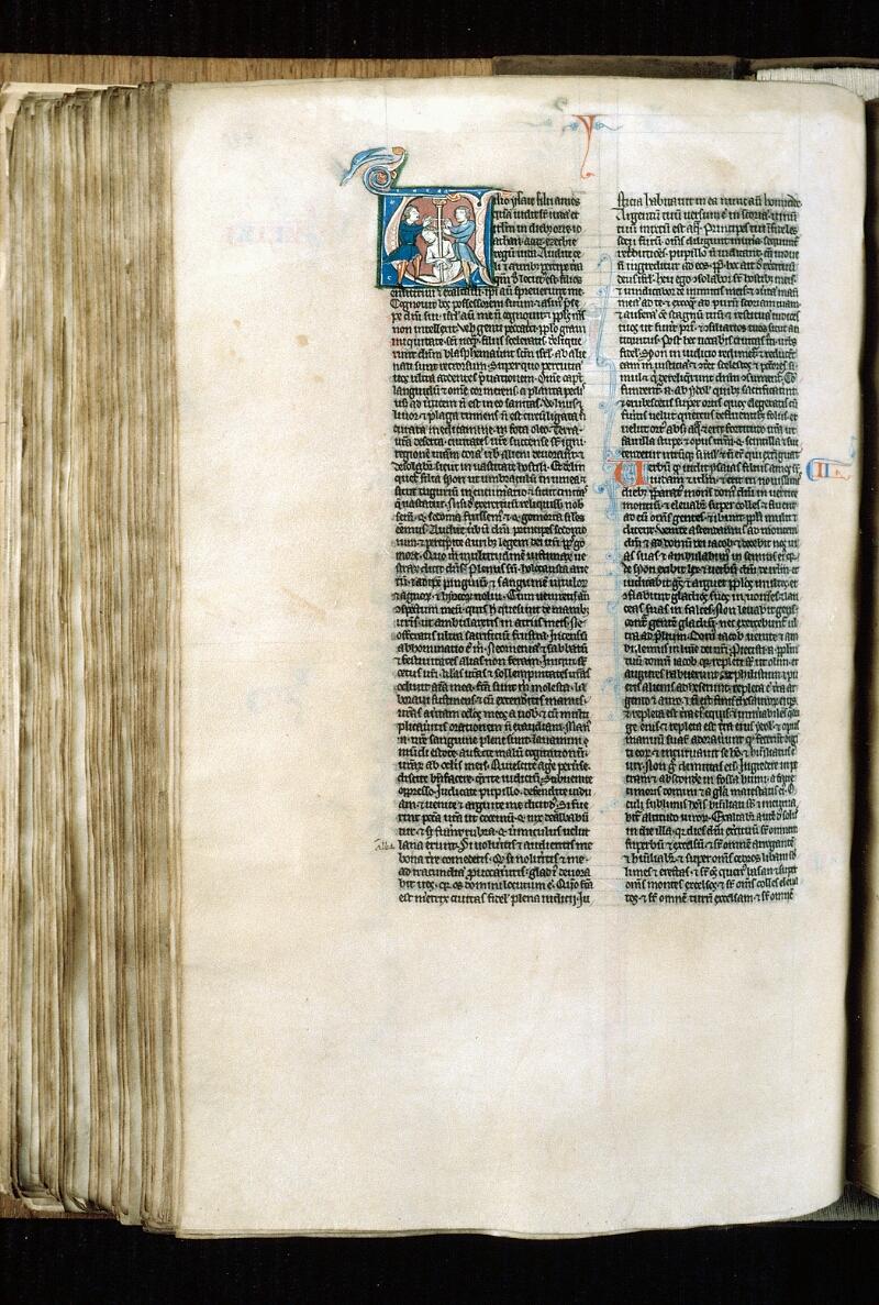 Alençon, Bibl. mun., ms. 0054, f. 220v - vue 1