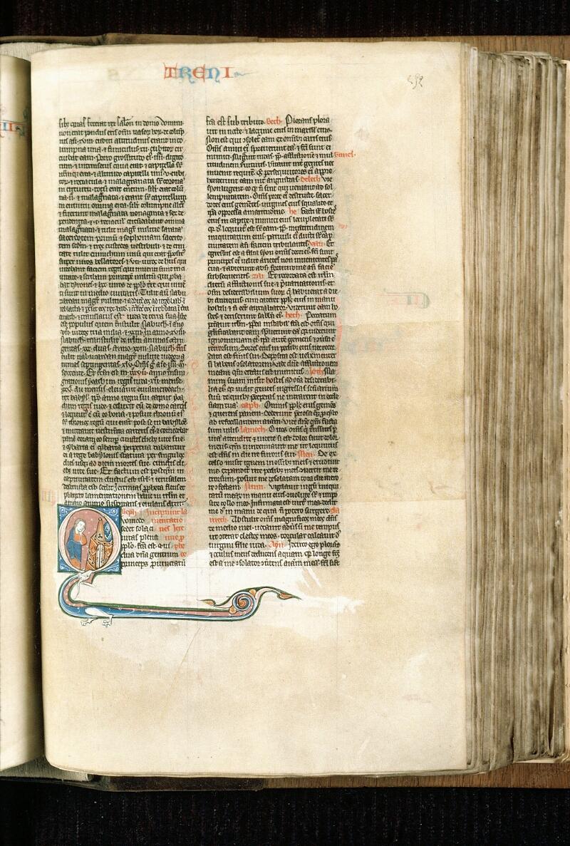 Alençon, Bibl. mun., ms. 0054, f. 252 - vue 1