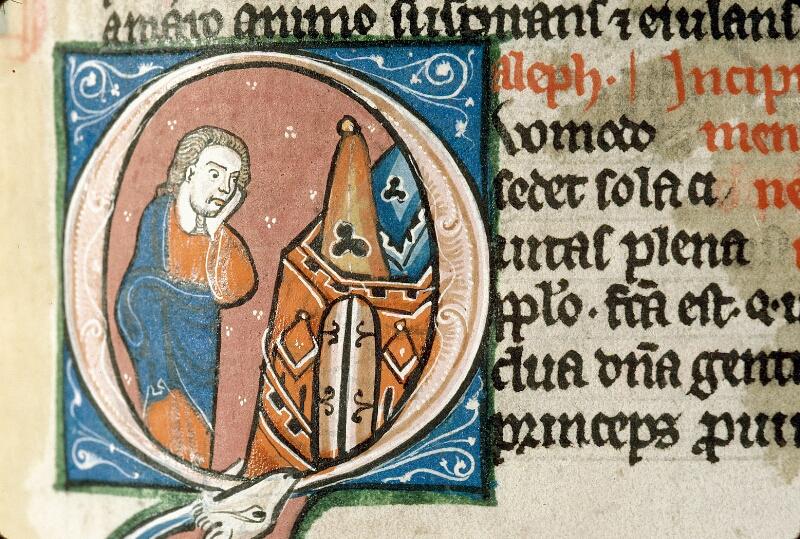 Alençon, Bibl. mun., ms. 0054, f. 252 - vue 2