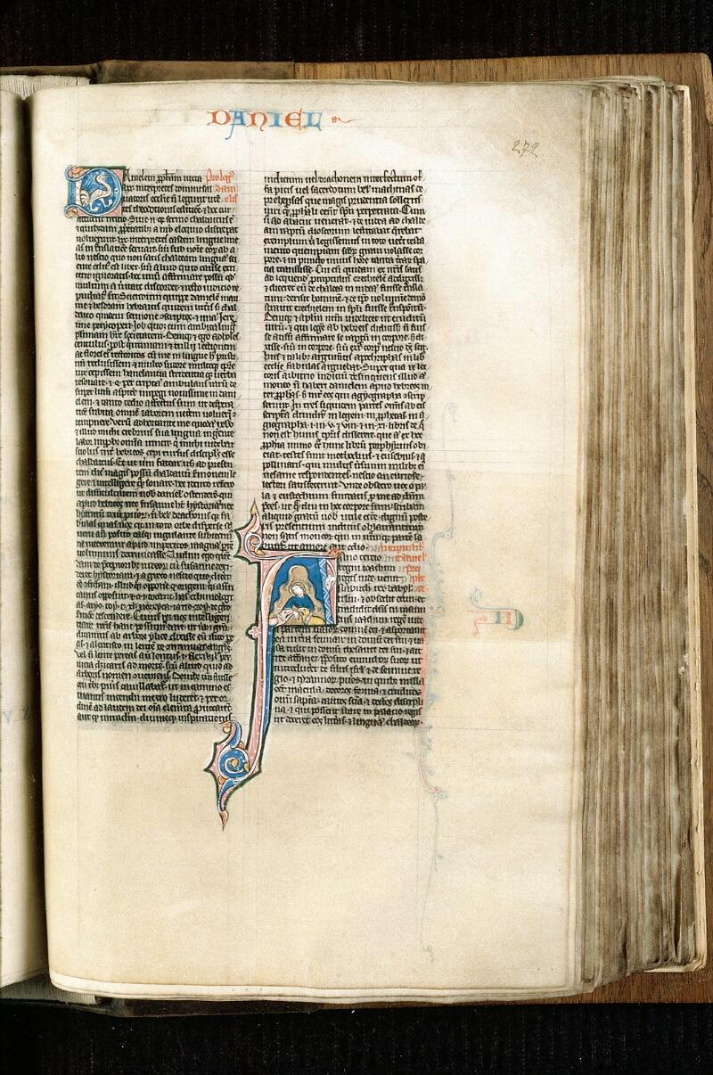 Alençon, Bibl. mun., ms. 0054, f. 272 - vue 1