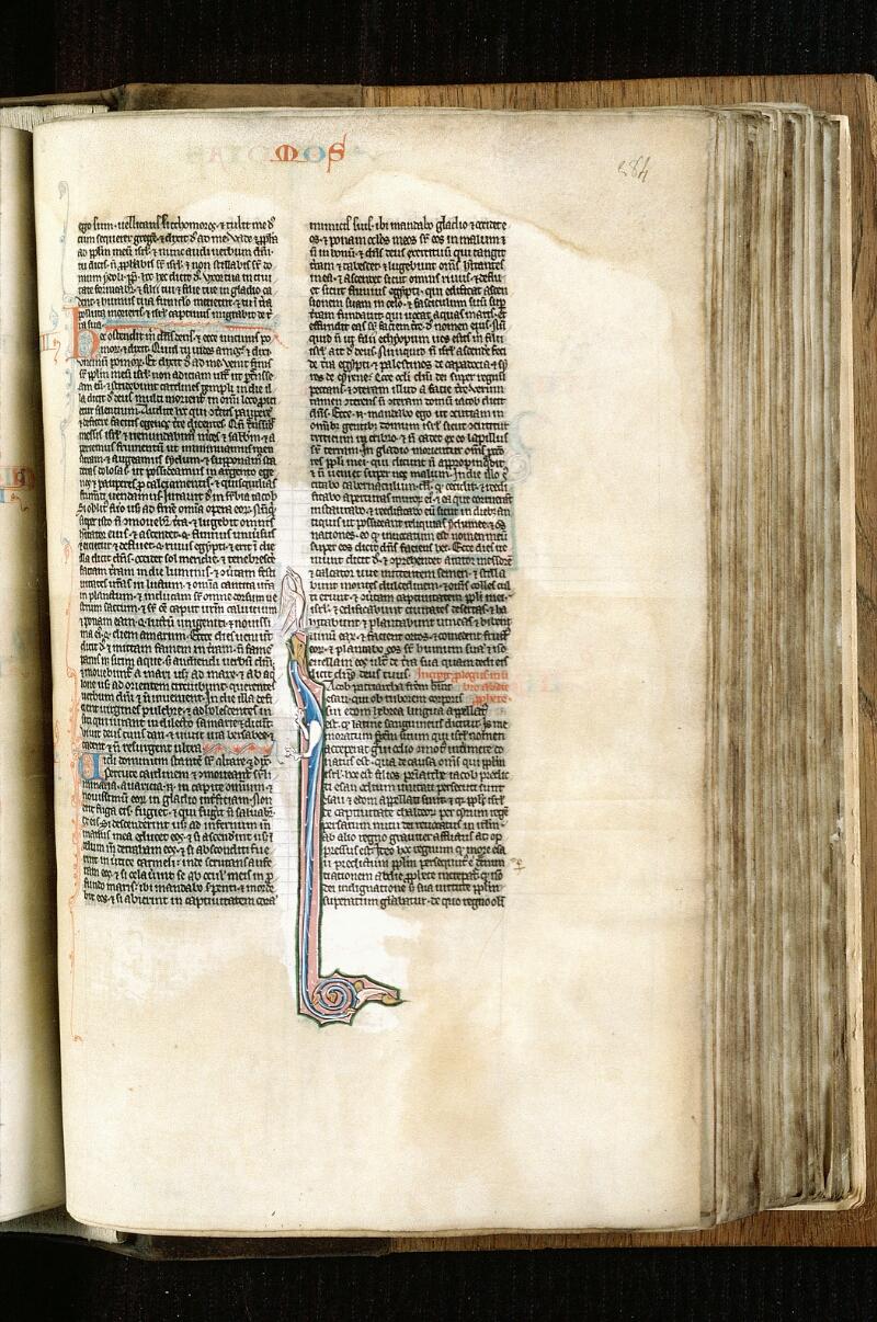 Alençon, Bibl. mun., ms. 0054, f. 284 - vue 1