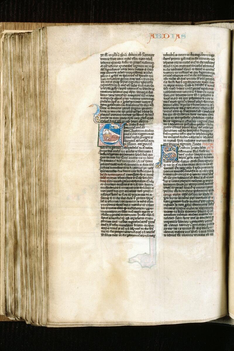 Alençon, Bibl. mun., ms. 0054, f. 284v - vue 1