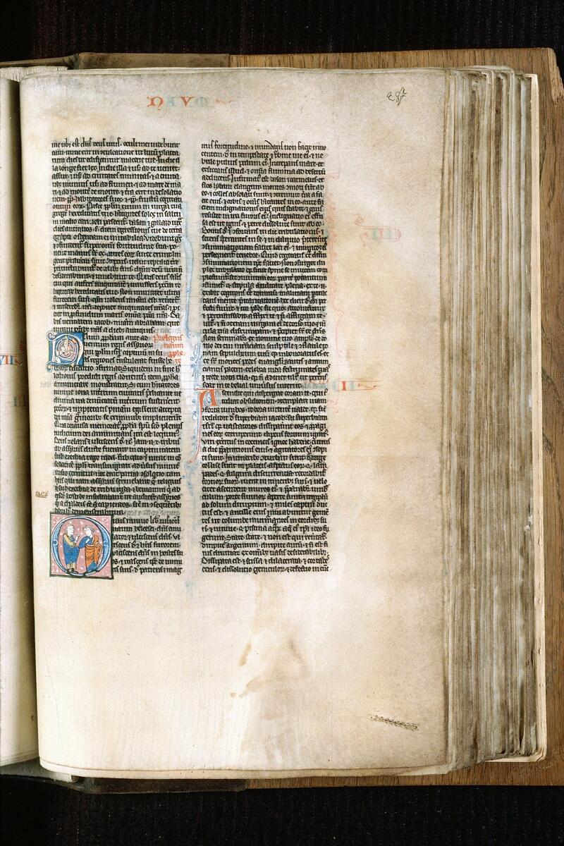 Alençon, Bibl. mun., ms. 0054, f. 287 - vue 1