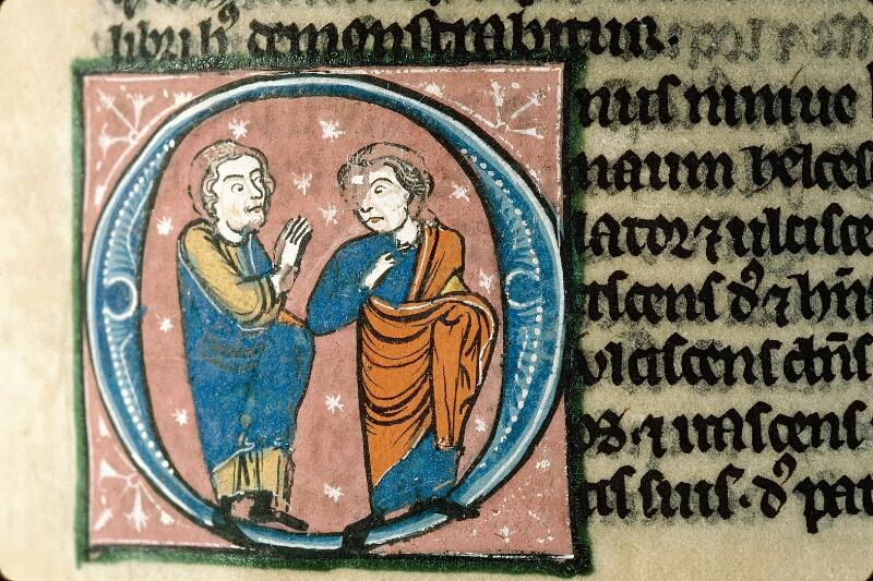 Alençon, Bibl. mun., ms. 0054, f. 287 - vue 2