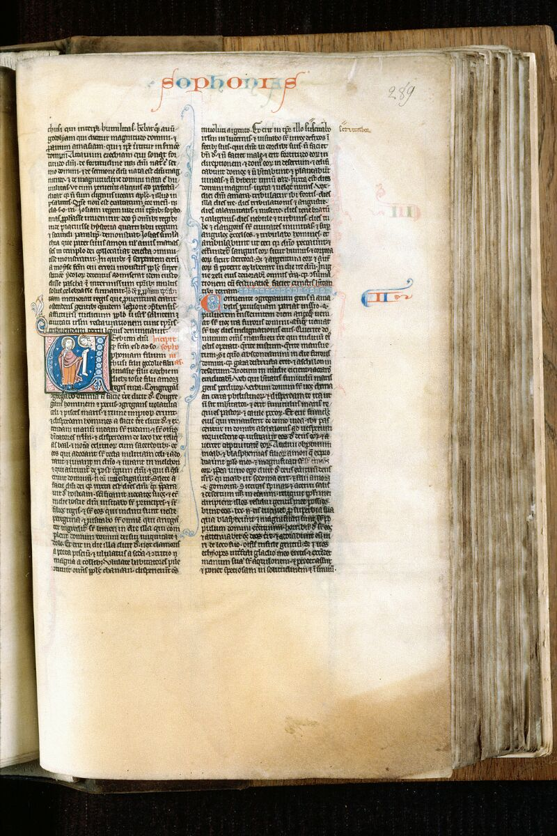 Alençon, Bibl. mun., ms. 0054, f. 289 - vue 1