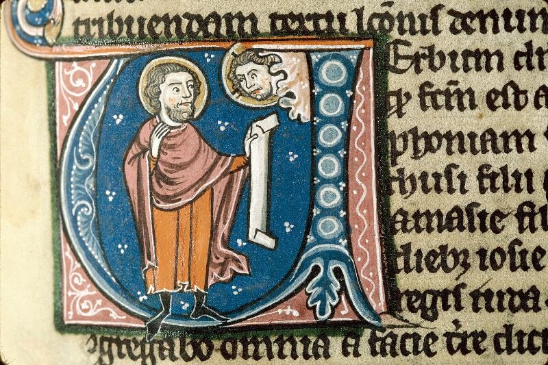 Alençon, Bibl. mun., ms. 0054, f. 289 - vue 2