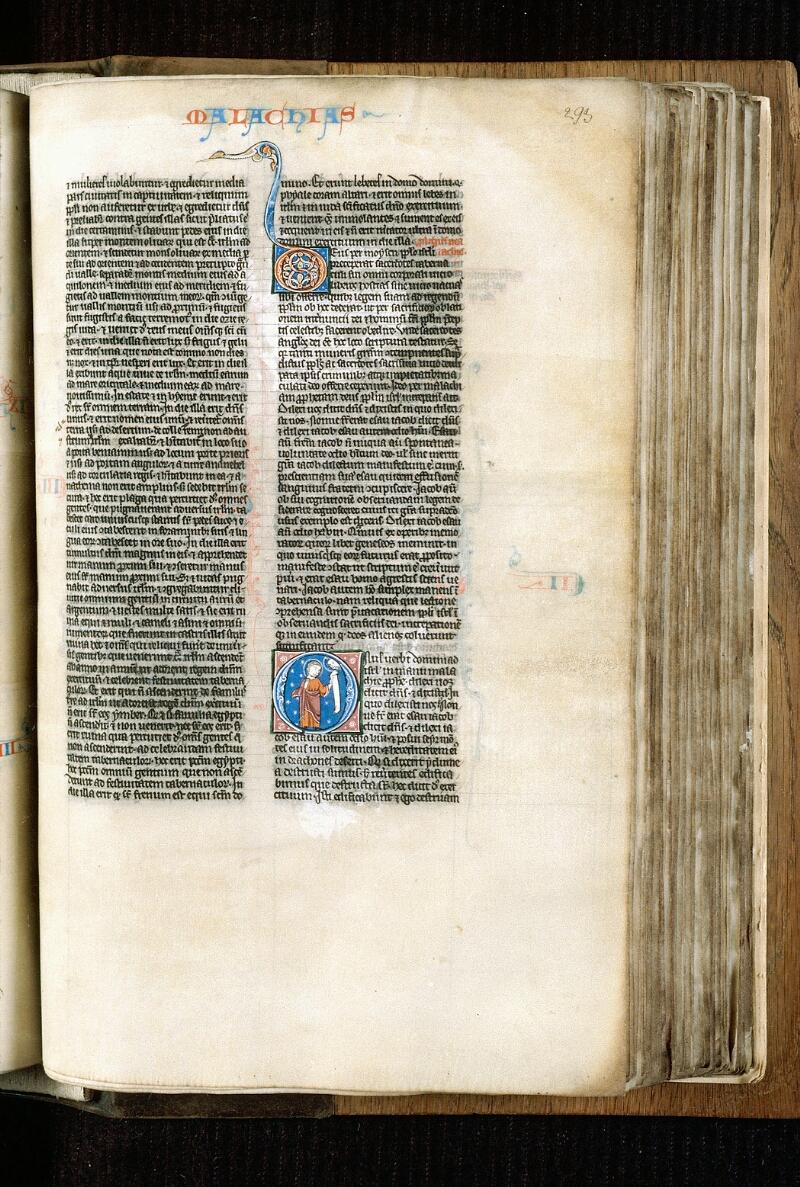 Alençon, Bibl. mun., ms. 0054, f. 293 - vue 1