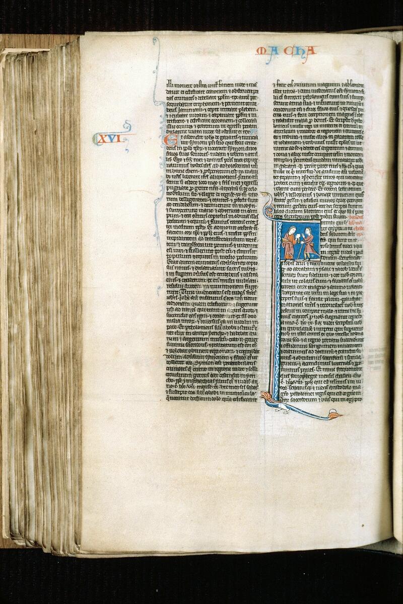 Alençon, Bibl. mun., ms. 0054, f. 304v - vue 1