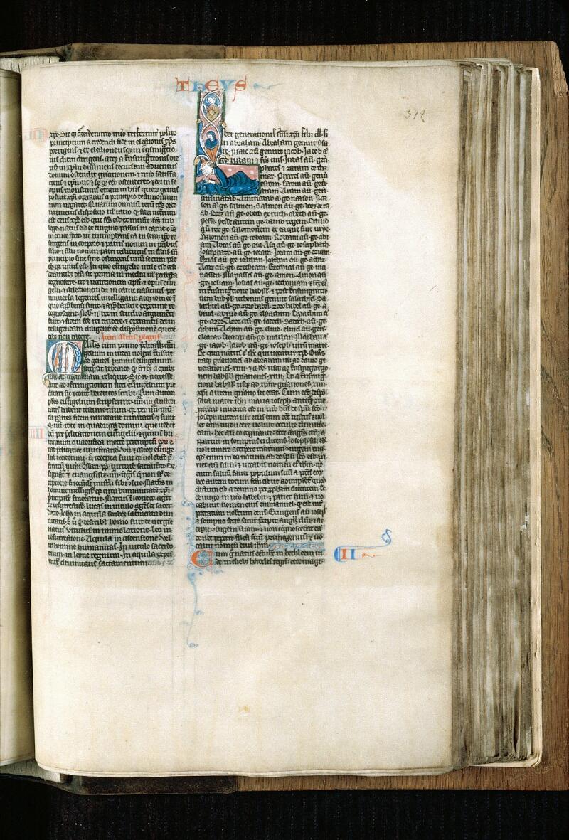 Alençon, Bibl. mun., ms. 0054, f. 312 - vue 1