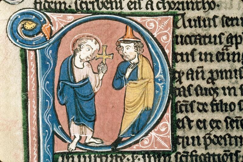 Alençon, Bibl. mun., ms. 0054, f. 347v - vue 2