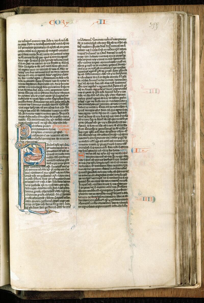 Alençon, Bibl. mun., ms. 0054, f. 355 - vue 1