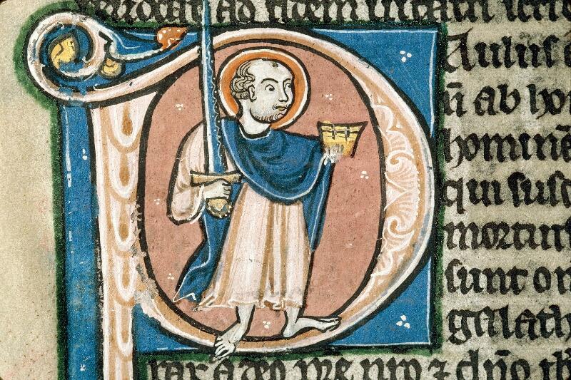 Alençon, Bibl. mun., ms. 0054, f. 357v - vue 2