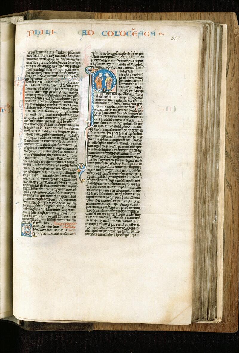 Alençon, Bibl. mun., ms. 0054, f. 361 - vue 1