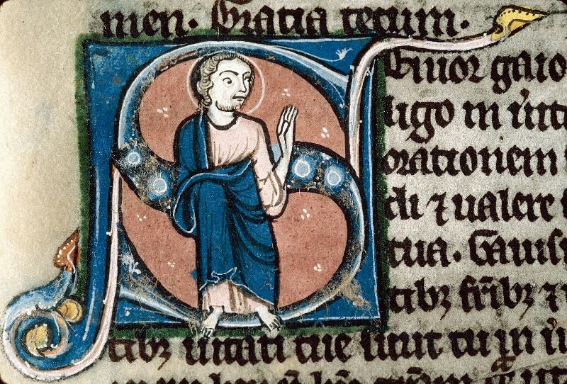 Alençon, Bibl. mun., ms. 0054, f. 383 - vue 2