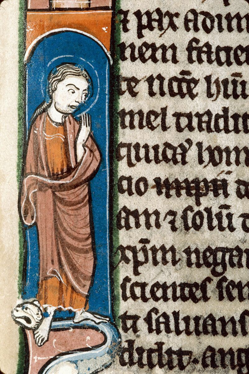 Alençon, Bibl. mun., ms. 0054, f. 383 - vue 3