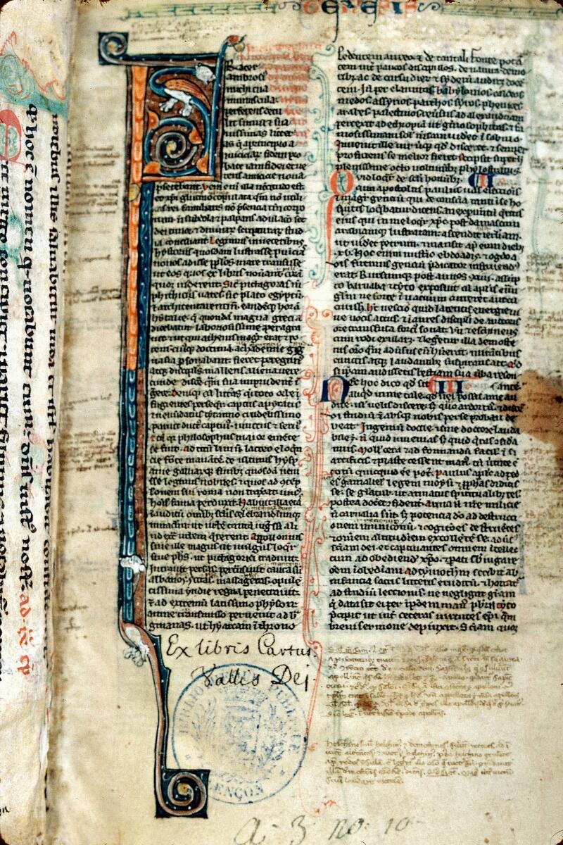 Alençon, Bibl. mun., ms. 0057, f. 001