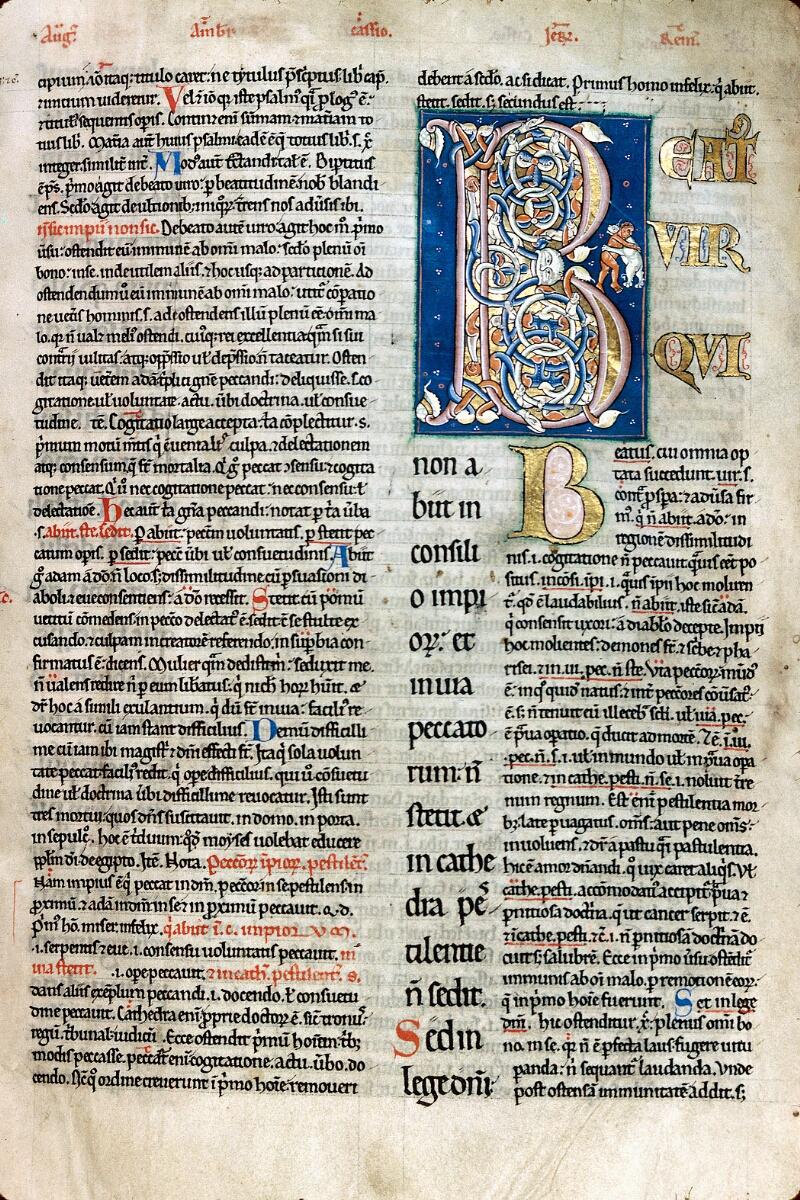Alençon, Bibl. mun., ms. 0067, f. 002 - vue 1