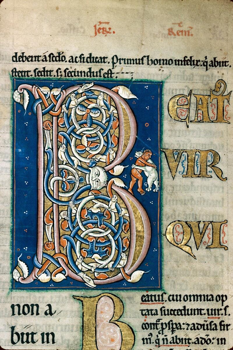 Alençon, Bibl. mun., ms. 0067, f. 002 - vue 2