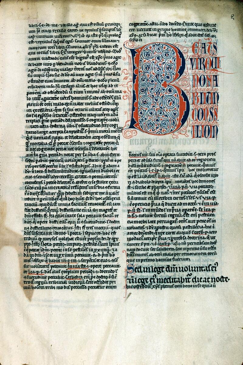 Alençon, Bibl. mun., ms. 0068, f. 002 - vue 1