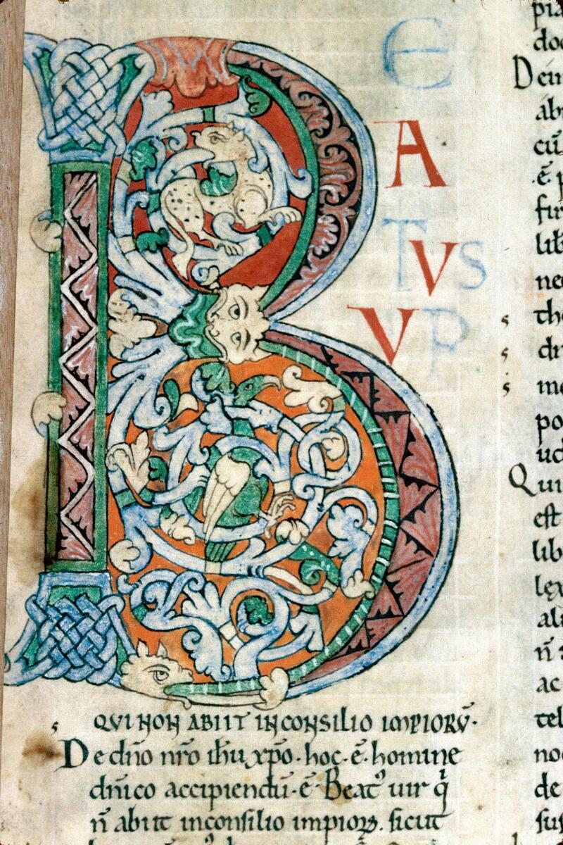 Alençon, Bibl. mun., ms. 0071, f. 001 - vue 2