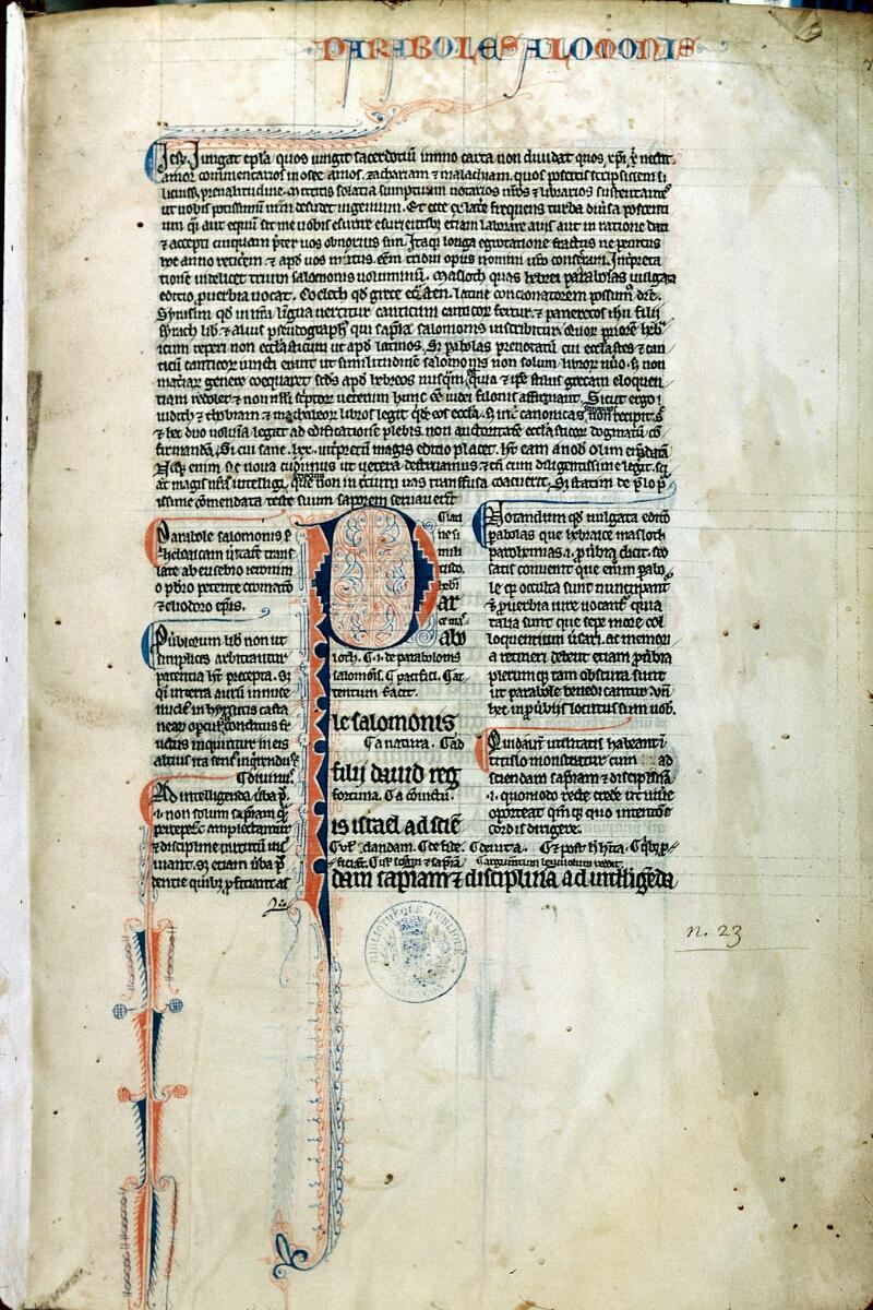 Alençon, Bibl. mun., ms. 0076, f. 001