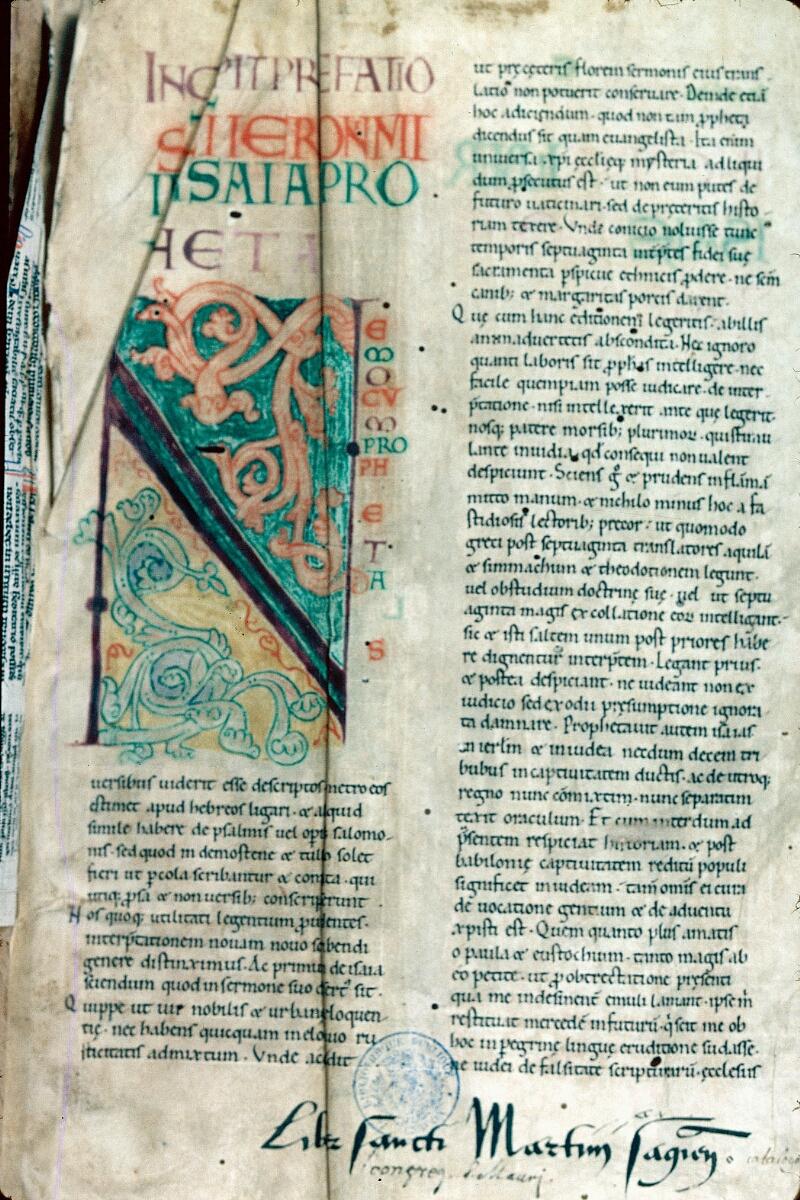 Alençon, Bibl. mun., ms. 0079, f. 001