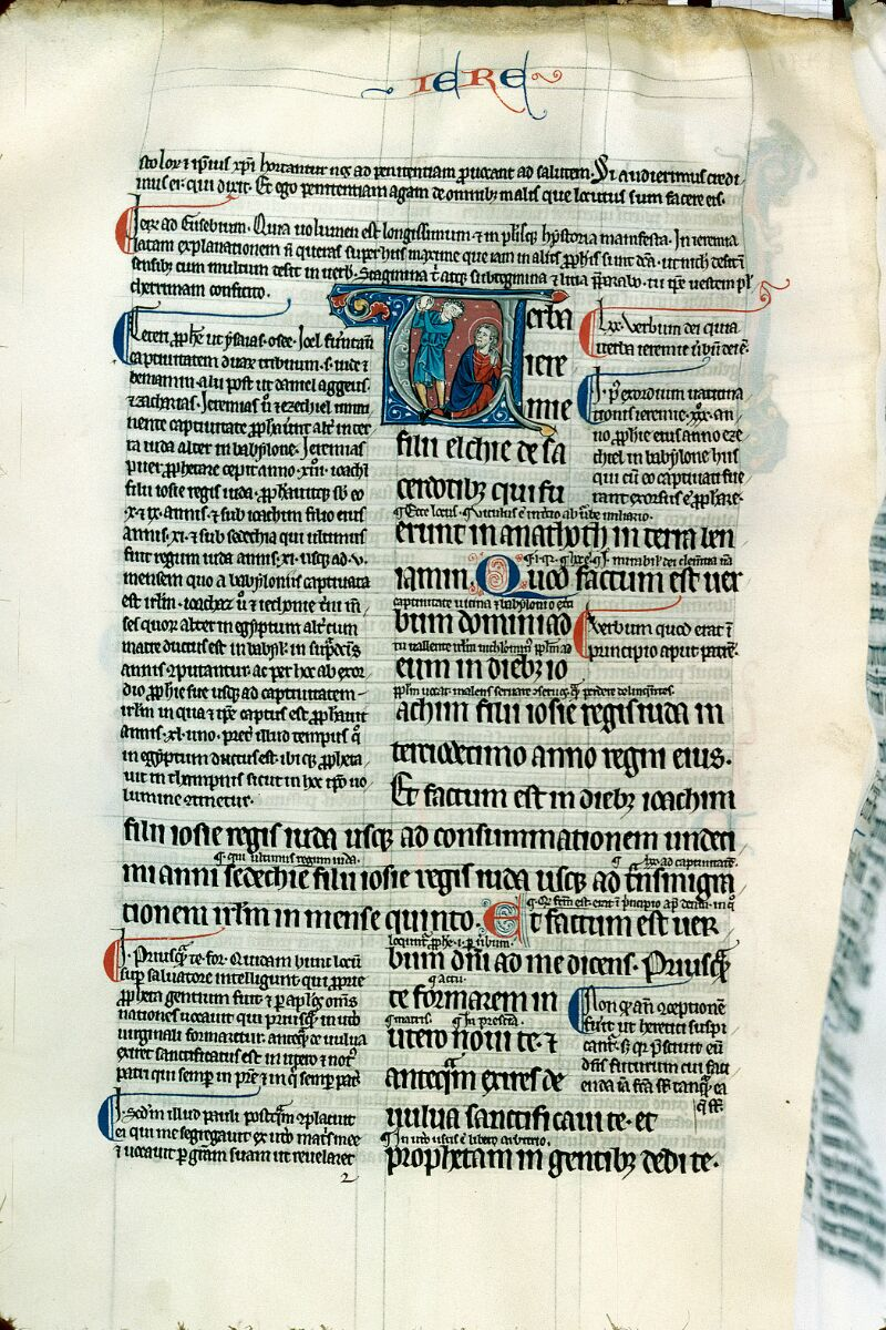 Alençon, Bibl. mun., ms. 0081, f. 104v - vue 1