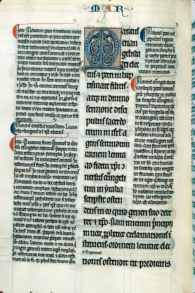 Alençon, Bibl. mun., ms. 0085, f. 103v