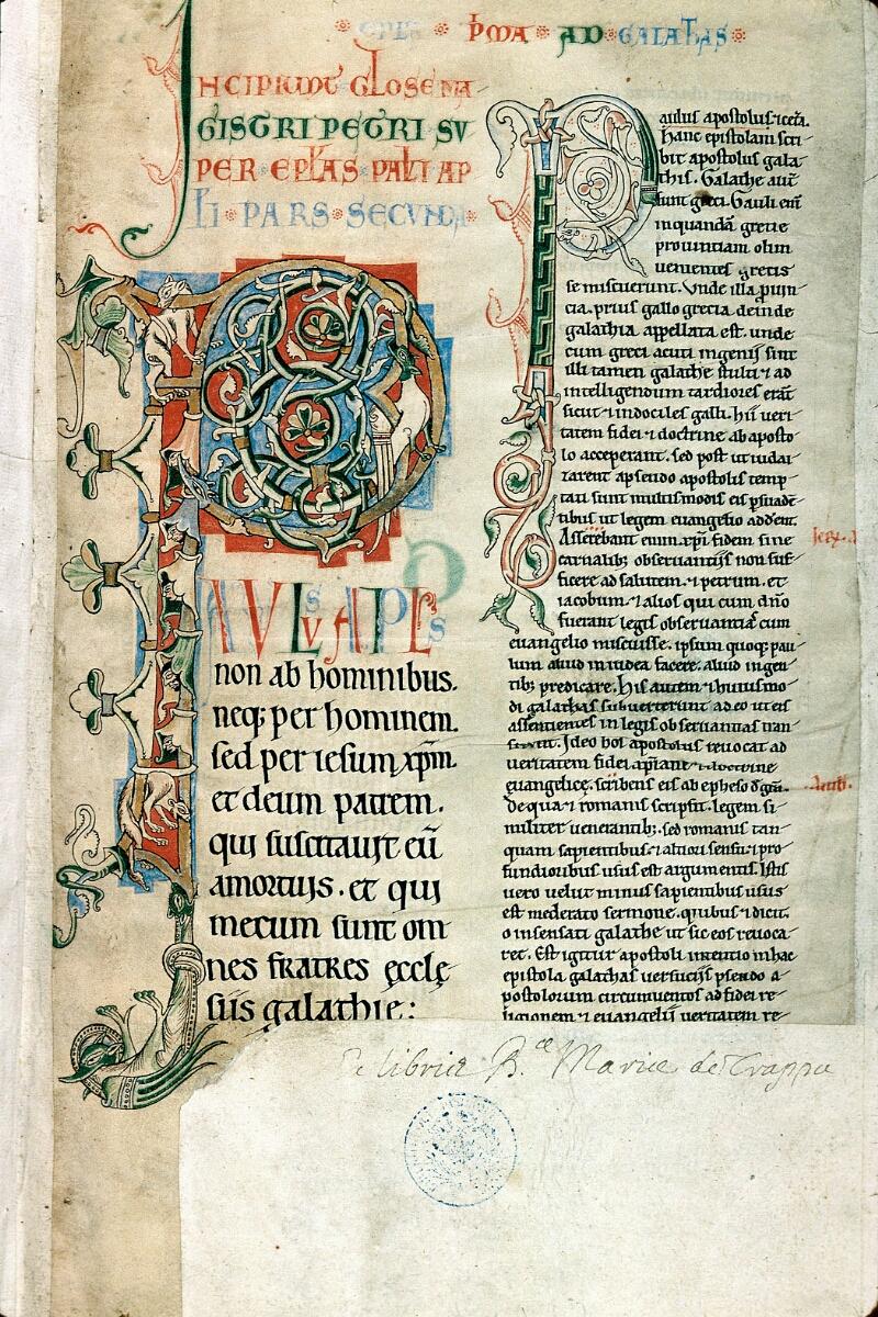 Alençon, Bibl. mun., ms. 0095, f. 001