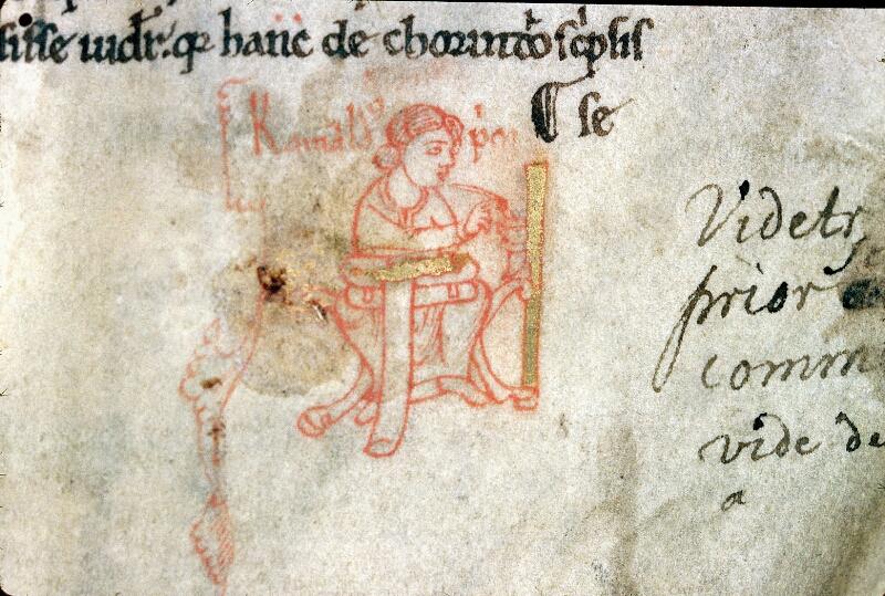 Alençon, Bibl. mun., ms. 0096, f. 001 - vue 2