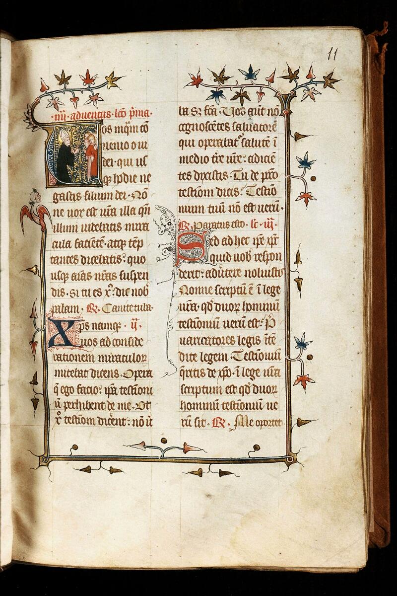 Alençon, Bibl. mun., ms. 0128, f. 011 - vue 1