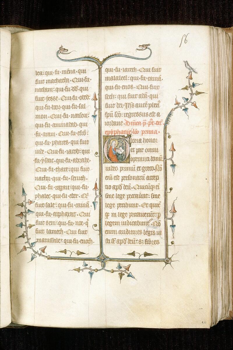 Alençon, Bibl. mun., ms. 0128, f. 056 - vue 1
