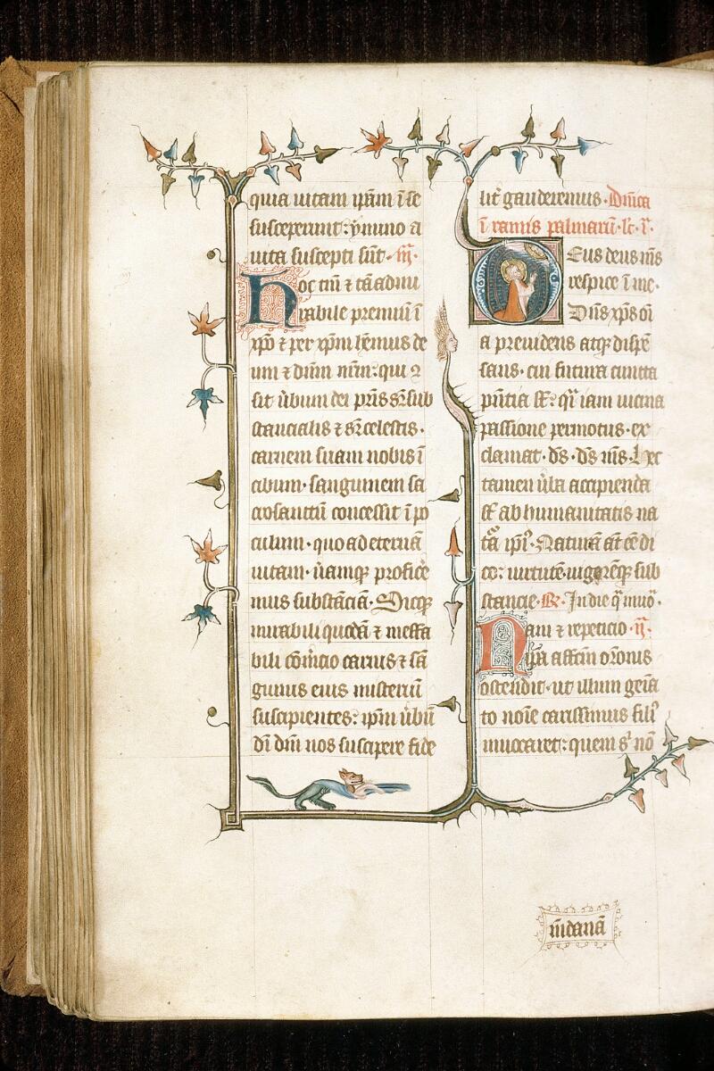 Alençon, Bibl. mun., ms. 0128, f. 110v - vue 1