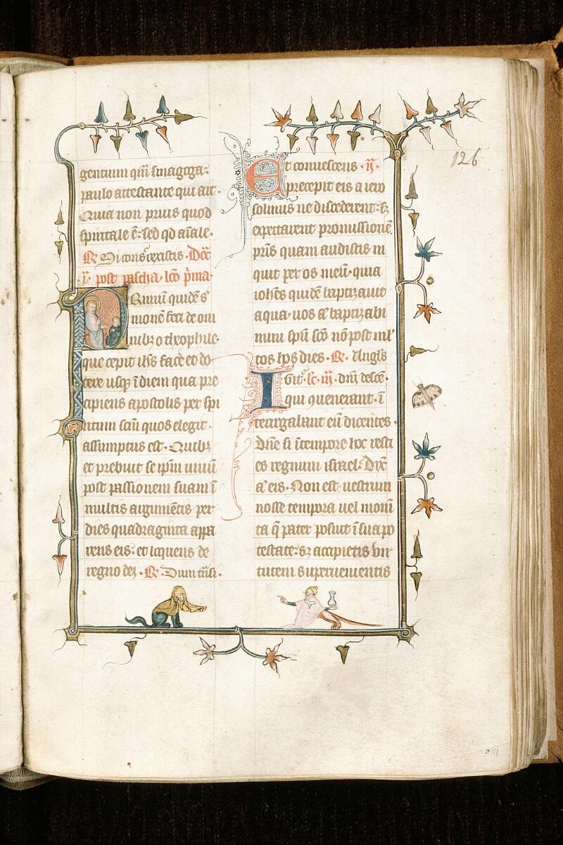Alençon, Bibl. mun., ms. 0128, f. 126 - vue 1