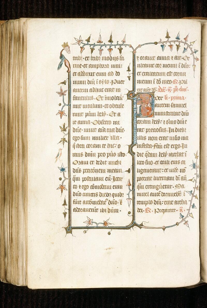 Alençon, Bibl. mun., ms. 0128, f. 161v - vue 1