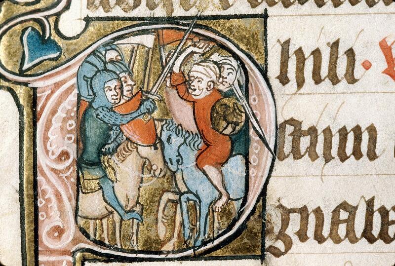 Alençon, Bibl. mun., ms. 0128, f. 165v - vue 2