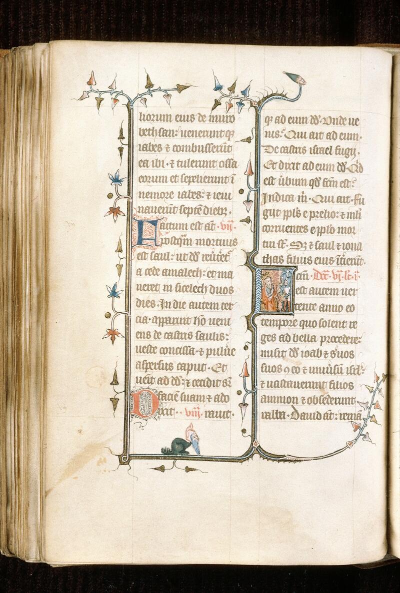 Alençon, Bibl. mun., ms. 0128, f. 166v - vue 1