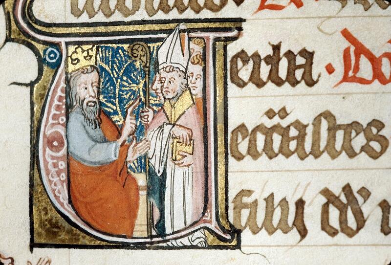 Alençon, Bibl. mun., ms. 0128, f. 175 - vue 2