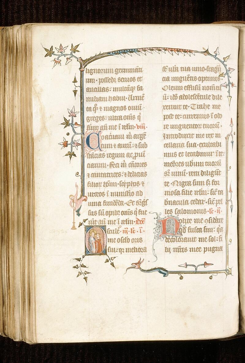 Alençon, Bibl. mun., ms. 0128, f. 176v - vue 1