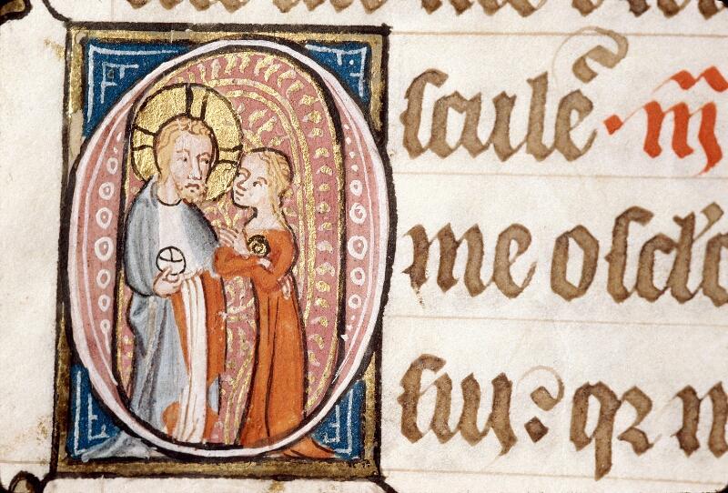 Alençon, Bibl. mun., ms. 0128, f. 176v - vue 2