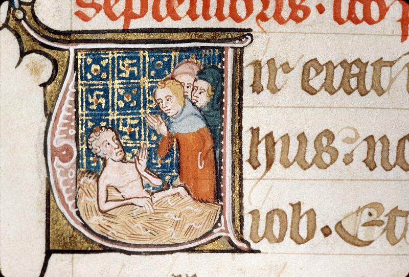 Alençon, Bibl. mun., ms. 0128, f. 181 - vue 2