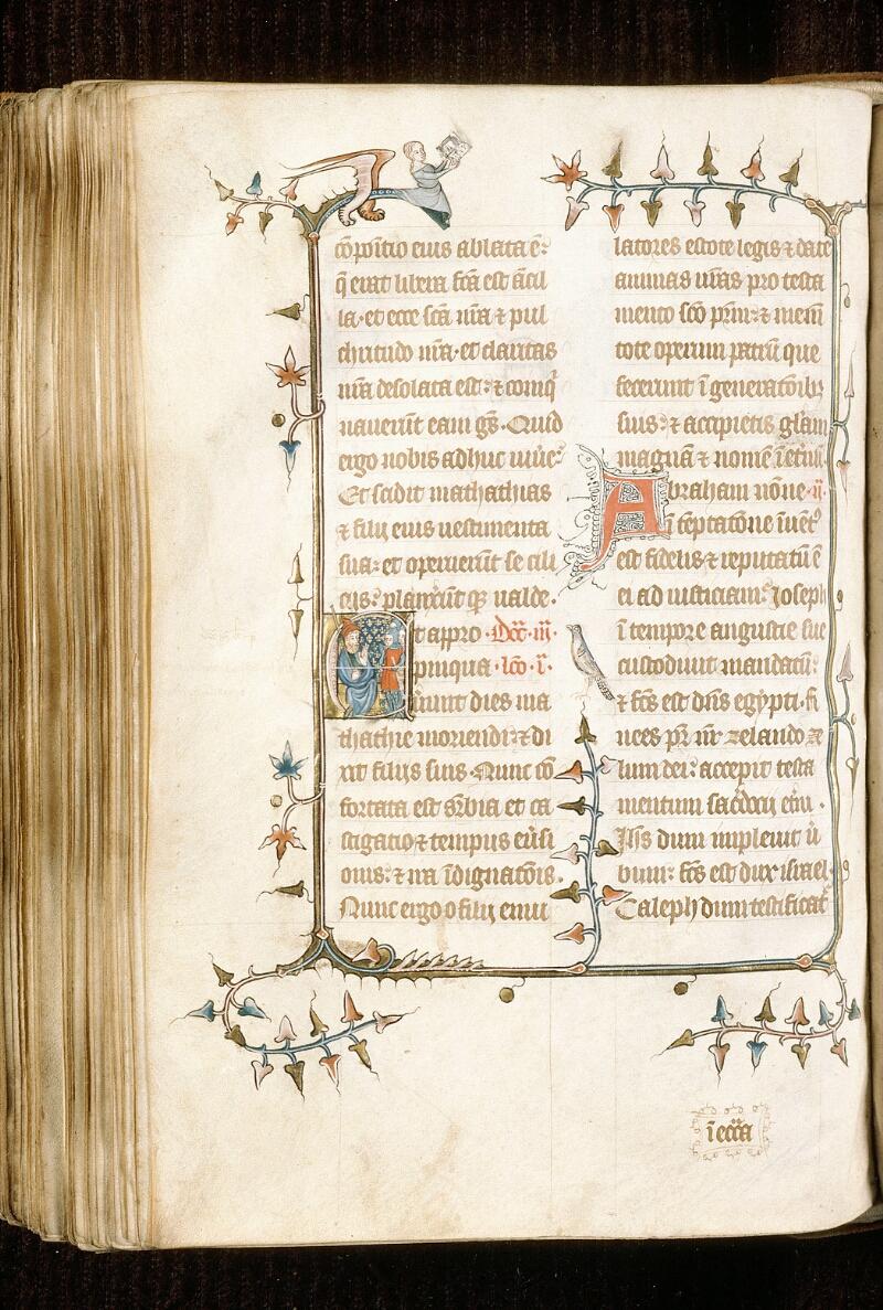 Alençon, Bibl. mun., ms. 0128, f. 190v - vue 1