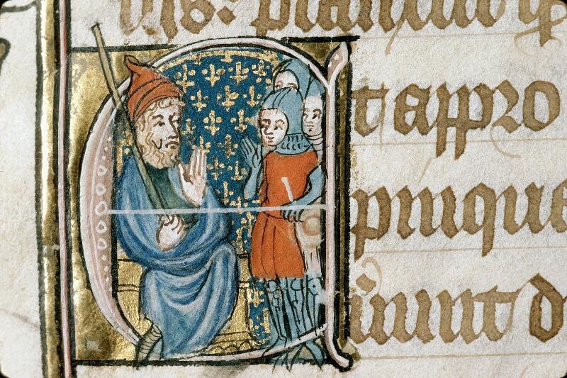 Alençon, Bibl. mun., ms. 0128, f. 190v - vue 2