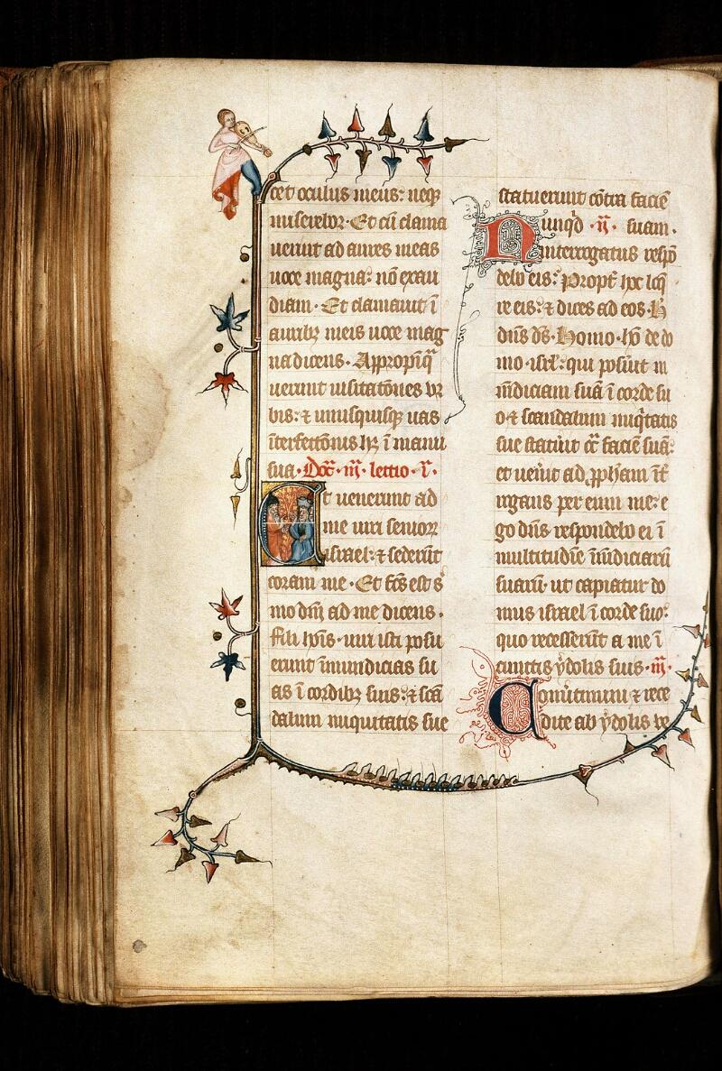 Alençon, Bibl. mun., ms. 0128, f. 195v - vue 1