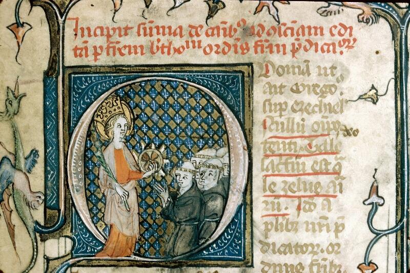 Alençon, Bibl. mun., ms. 0138, f. 001 - vue 2