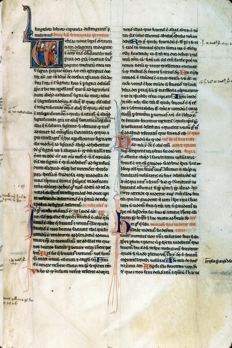 Alençon, Bibl. mun., ms. 0145, f. 003 - vue 1
