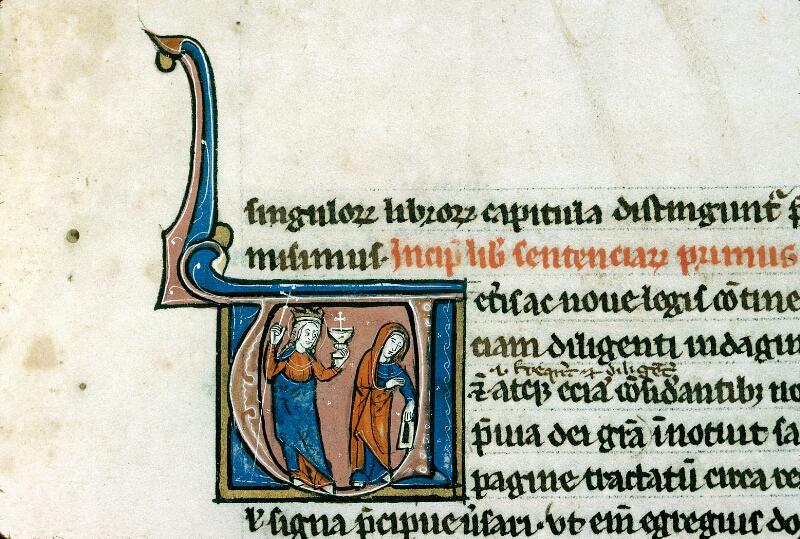 Alençon, Bibl. mun., ms. 0145, f. 003 - vue 2