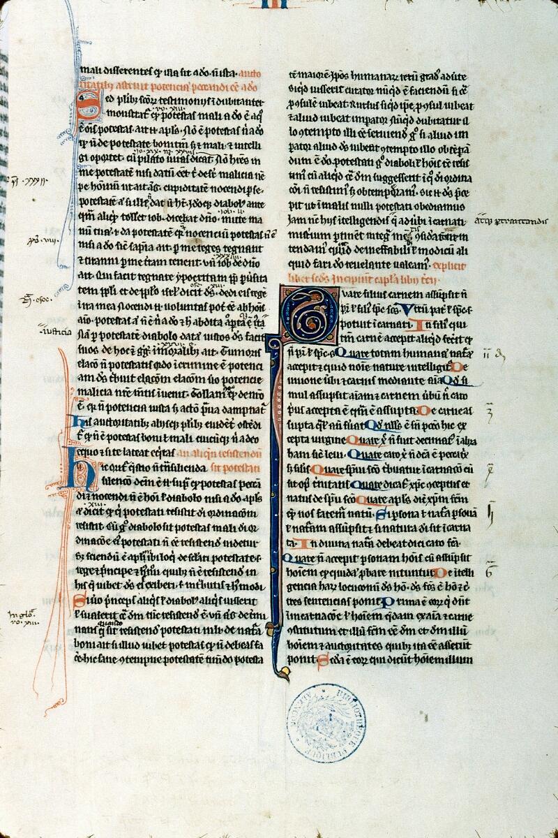 Alençon, Bibl. mun., ms. 0145, f. 100