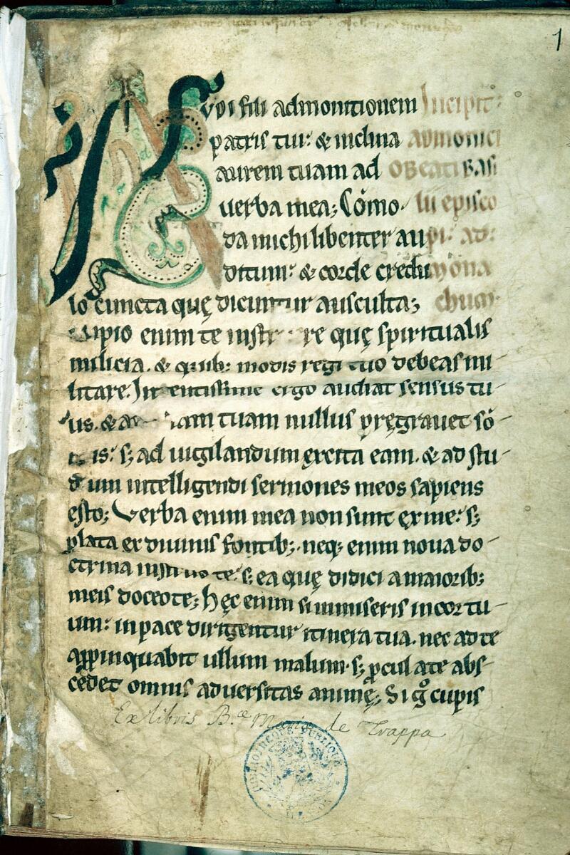 Alençon, Bibl. mun., ms. 0146, f. 001